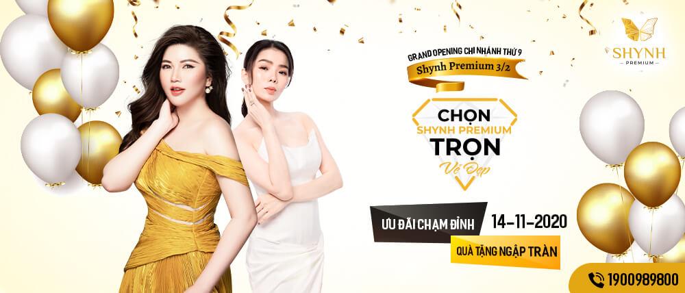 Grand Opening Thứ 9 - Shynh Premium 3 tháng 2